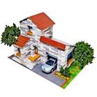 Конструктор из кирпичиков «Дом с гаражом», 500 деталей