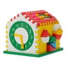 Развивающая игрушка-сортер «Логический дом»