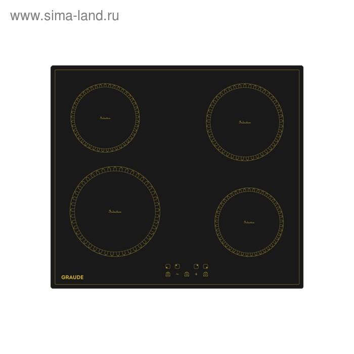 Варочная поверхность Graude IK 60.0 KS, индукционная, 4 конфорки, черный