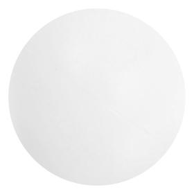 Мяч для настольного тенниса, цвет белый Ош