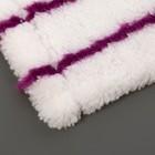Насадка для плоской швабры Mopex bel, 40×10 см, микрофибра, цвет МИКС - Фото 6