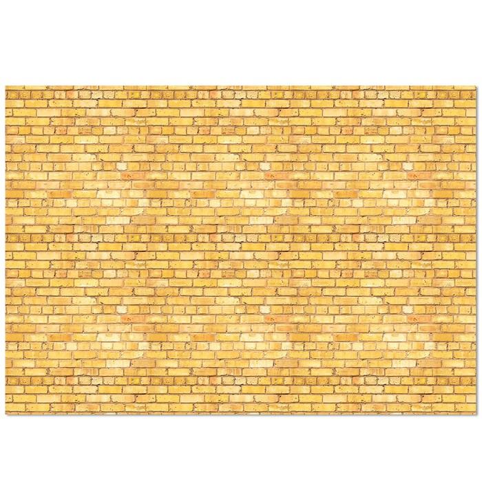Фотофон «Кирпичная стена», 70 х 100 см, бумага, 130 г/м