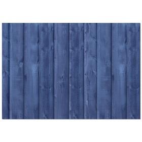 Фотофон «Синие доски», 70 х 100 см, бумага, 130 г/м