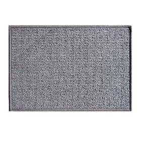Коврик придверный «Детройт», полипропилен, 40х60 см, серый Ош