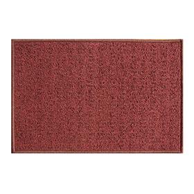 Коврик придверный «Детройт», полипропилен, 40х60 см, бордовый Ош