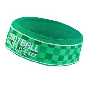 """Повязка детская Collorista """"Footbal is life"""" 18х7см"""