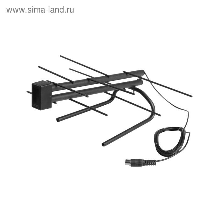 Антенна Digifors LKA-941, комнатная, активная, 18 дБи, 5В, DVB-T, DVB-T2, цифровая
