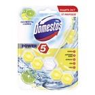 Блок для очищения унитаза Domestos Power 5 «Свежесть лайма», 55 г