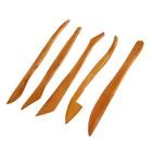 Набор деревянных стеков «Сонет», 5 штук, 20 см