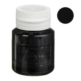 Краска акриловая Shine, 20 мл, WizzArt, чёрный глянцевый
