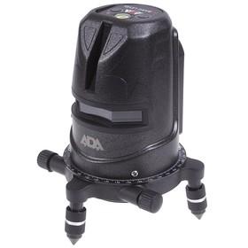 """Нивелир лазерный ADA 2D Basis Level, 2 линии, 40/20 м, +/- 0.3мм/м, 5/8"""", кейс"""