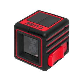 Нивелир лазерный ADA Cube Basic Edition, 2 луча, 20 м, ± 2мм/10м, 1/4' Ош