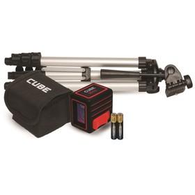 Нивелир лазерный ADA Cube MINI Professional Edition, 2 луча, 20 м, ± 2мм/10м Ош