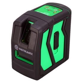 Нивелир лазерный INSTRUMAX ELEMENT 2D GREEN, 2 луча, 30/70 м, ± 2 мм/10м