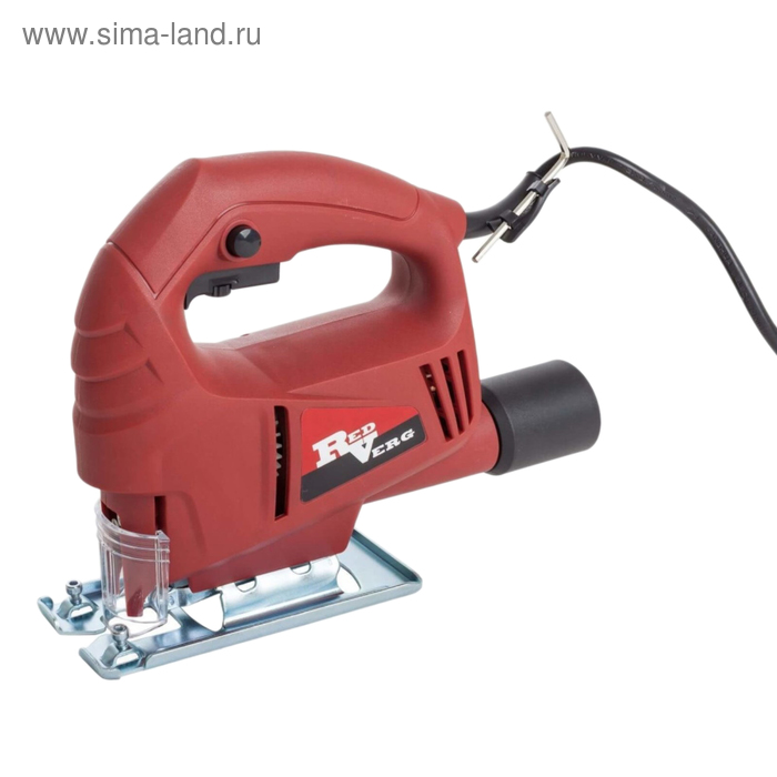 Лобзик RedVerg RD-JS500-55, 500 Вт, 3000 ход/мин, дерево/металл 55/3 мм