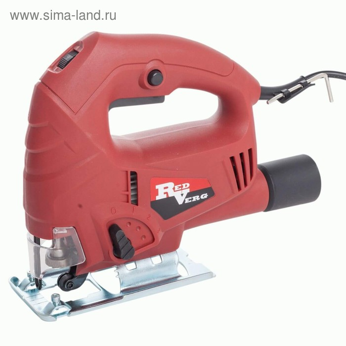 Лобзик RedVerg RD-JS600-65, маятник, 600 Вт, 3000 ход/мин, дерево/металл 65/4 мм