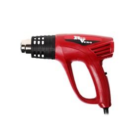 Фен технический RedVerg RD-HG200/4, 2000 Вт, 80-600°, 480 л/мин, 4 насадки, скребок