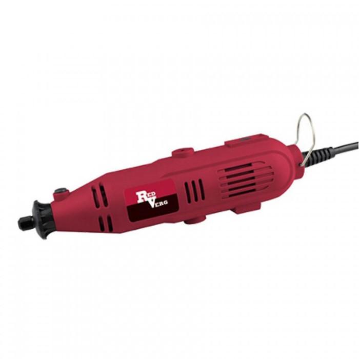 Гравер RedVerg RD-MG150, 150 Вт, 10000-32000 об/мин, цанга 2.3/3.2 мм, насадки