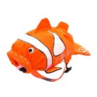 """Рюкзак для бассейна и пляжа """"Рыба-Клоун"""" цвет оранжевый"""