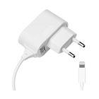 Зарядное устройство Prime Line (2301) Apple 8-pin iPhone 5/6, 1000 mA, белое