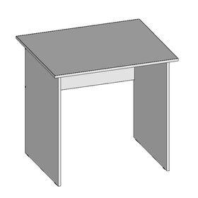 Стол рабочий С8.7(16), 800х680х750 мм, белый шагр Ош