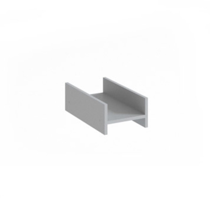 Подставка под системный блок ПП-1, 250х450х150 мм, серый