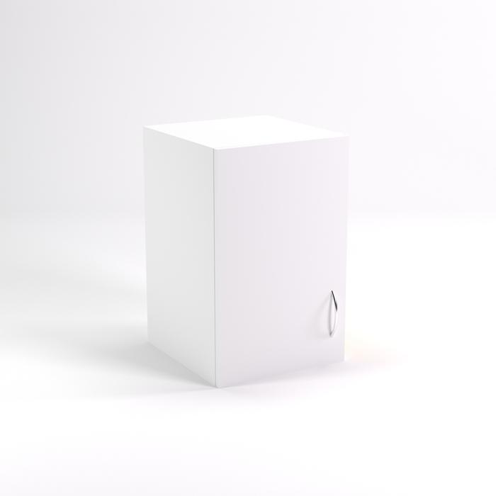 Антресоль однодверная НАШ-6, 383х380х600 мм, белый шагр