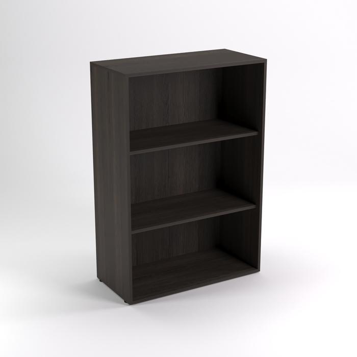 Шкаф стеллаж низкий НШт-4, 760х380х1153 мм, венге