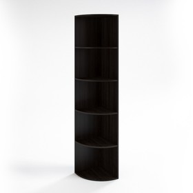 Шкаф угловой низкий НШ-13, 380х380х1153 мм, венге Ош