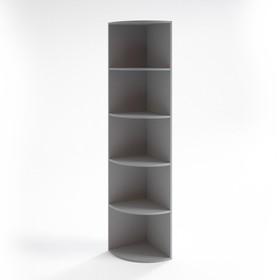 Шкаф угловой низкий НШ-13, 380х380х1153 мм, серый Ош