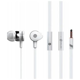 Наушники с микрофоном Oklick HS-S-210, вкладыши, в ушной раковине, провод 1.2 м, белые