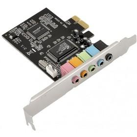 Звуковая карта PCI-E 8738 (C-Media CMI8738-LX) 5.1 bulk Ош