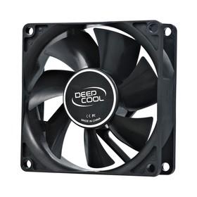 Вентилятор Deepcool XFAN 80 80x80x25mm 4-pin (Molex)20dB 82gr Ret Ош