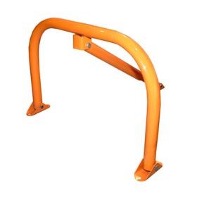 Парковочный барьер 'Стандарт' с замком, цвет оранжевый Ош