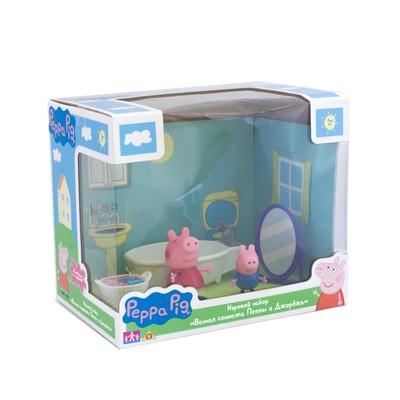 Игровой набор «Ванная комната Пеппы и Джорджа»