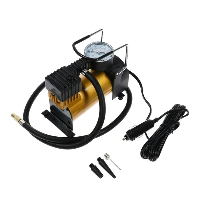 Компрессор автомобильный Торнадо АС-580м, 14 А, 30 лмин, 12 В, 7 Атм100 PSI