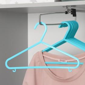 Вешалка-плечики для одежды детская, размер 30-34, цвет МИКС Ош