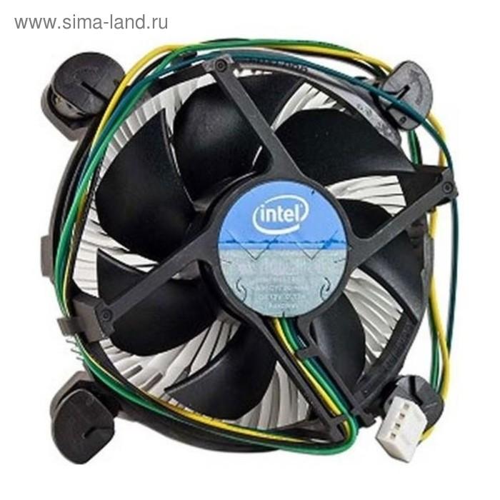 Устройство охлаждения(кулер) Intel E41997-002 Soc-1150/1151/1155/4-pin 18-38dB Al 180gr Bulk