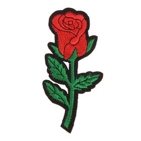 Декор на булавке «Роза» для одежды, сумок, обуви Ош