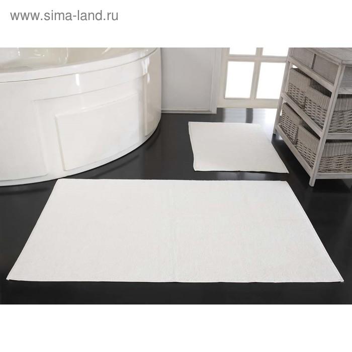 Коврик махровый Mastro, размер 50х70 см, цвет кремовый