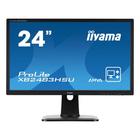 """Монитор Iiyama 24"""" XB2483HSU-B3 VA 4ms 16:9 HDMI Pivot 3000:1 178/178 1920x1080 D-Sub DP USB"""