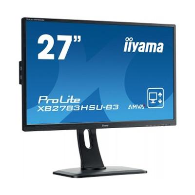 "Монитор Iiyama 27"" XB2783HSU-B3 VA 4ms 16:9 HDMI HAS 3000:1 300cd 178/178 1920x1080 D-Sub DP"