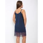 Сорочка женская 132 цвет синий, р-р 44 вискоза - Фото 2