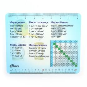 Коврик для мыши Ritmix MPD-020 Table, 220x180x1 мм