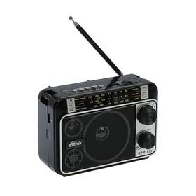 Радиоприёмник Ritmix RPR-171, FM, MP3, USB, AUX Ош