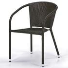 Кресло из искусственного ротанга Y137C-W53 Brown