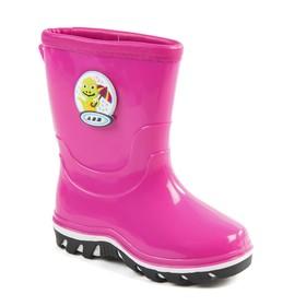 Сапоги детские, цвет розовый, размер 27 Ош