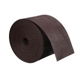 Лента бордюрная, 0.1 × 10 м, толщина 1.2 мм, пластиковая, коричневая, Greengo Ош