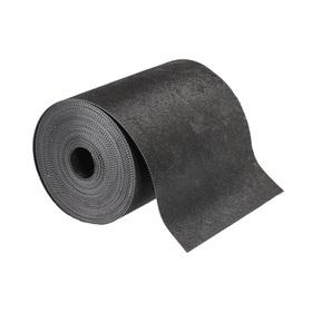 Лента бордюрная, 0.2 × 10 м, толщина 1.2 мм, пластиковая, чёрная, Greengo Ош