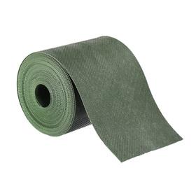 Лента бордюрная, 0.15 × 10 м, толщина 1.2 мм, пластиковая, зелёная, Greengo Ош